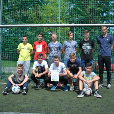 Chłopcy z Piątki najlepsi w piłce nożnej.