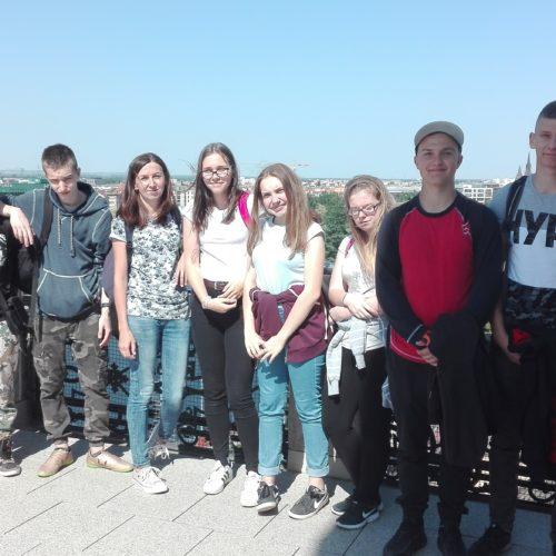 Wycieczka klas drugich do Wrocławia