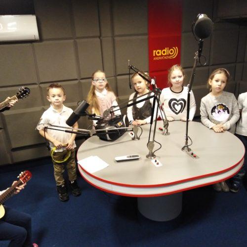 Nasi uczniowie na antenie Radia Andrychów